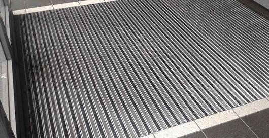 zerbino alluminio centro commerciale