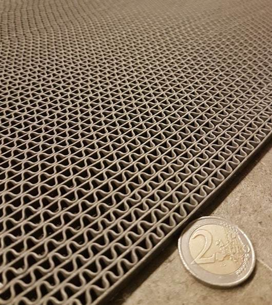 zerbino drenante basso spessore zigzag