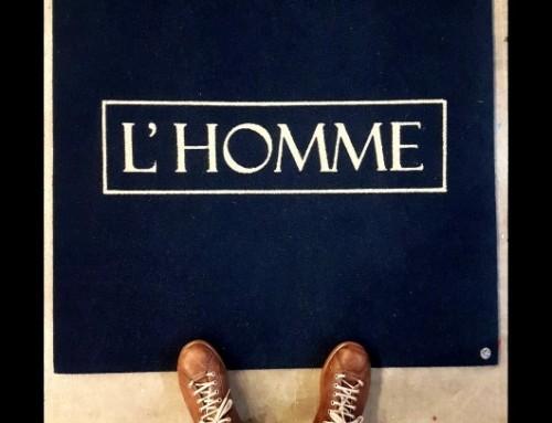 Zerbino personalizzato L'Homme